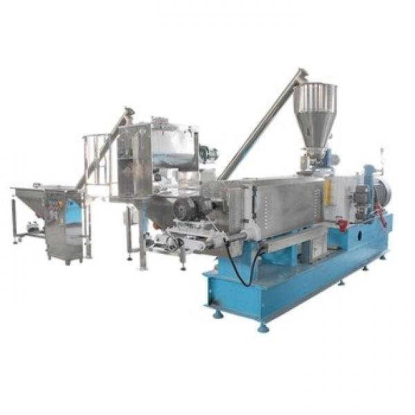 Puffed Extruded Fried Corn Wheat Snack Food Making Machinery