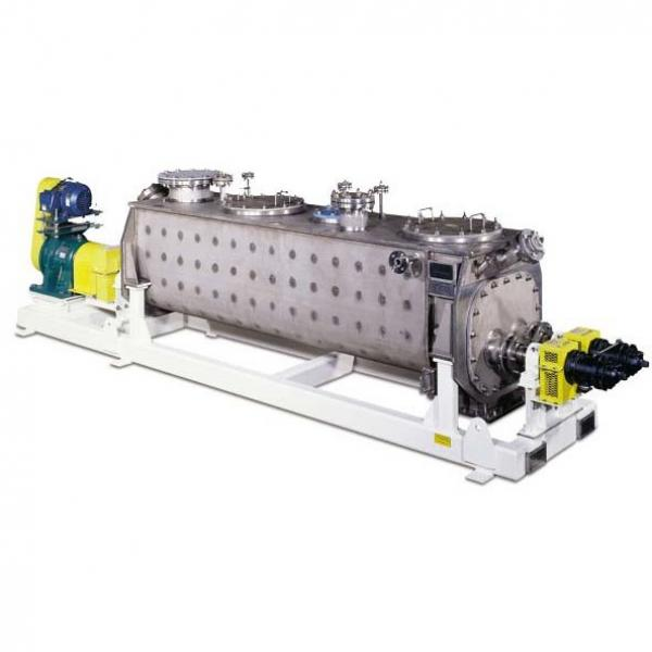 High Efficiency Continuous Vacuum Harrow Paddle Dryer for Chemical Industry