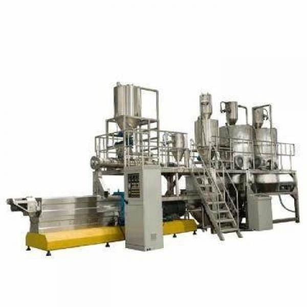 Double Layer Conditioners Sink Fish Feed Pellet Extruder Machine