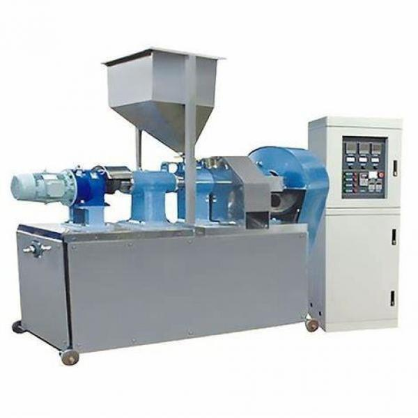 Automatic Twin Screw Extruder Wheat Corn Puffs Snack Making Machinery